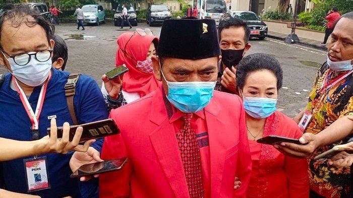 FX Rudy Pakai Baju Merah Menyala di Acara Pelantikan Wali Kota Solo, Ternyata Buat Beri Pesan Gibran