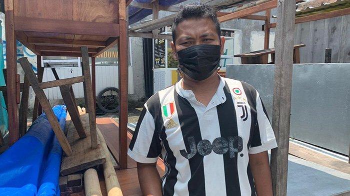 Viral Pedagang Angkringan Tertimpa Baliho Saat Angin Ribut di Karanganyar, Begini Nasibnya Sekarang
