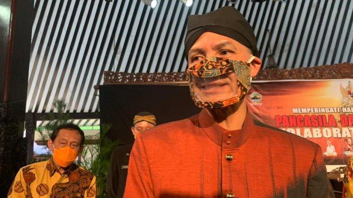 Ganjar Pranowo Sanggah Akan Maju di Ajang Pilpres 2024 : Sing Arep Maju Iki Sopo?