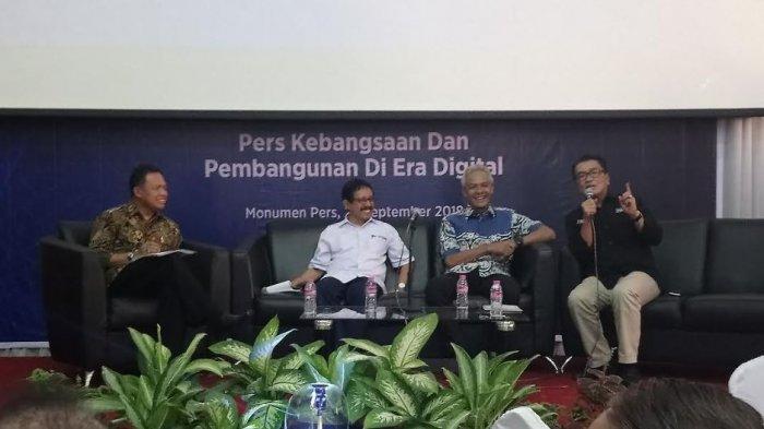 Ganjar Pranowo : 'National Interest' Jadi Pijakan Pelaku Pers dalam Berkarya