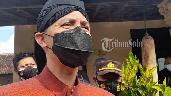 Reaksi Gubernur Jateng Ganjar Ditanya Maju Pilpres 2024: Sing Arep Maju Iki Sopo?