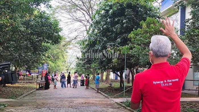 Ditanya Ganjar, Pasien Covid-19 di Technopark Sragen Curhat Kekurangan Bantal & Air Bersih