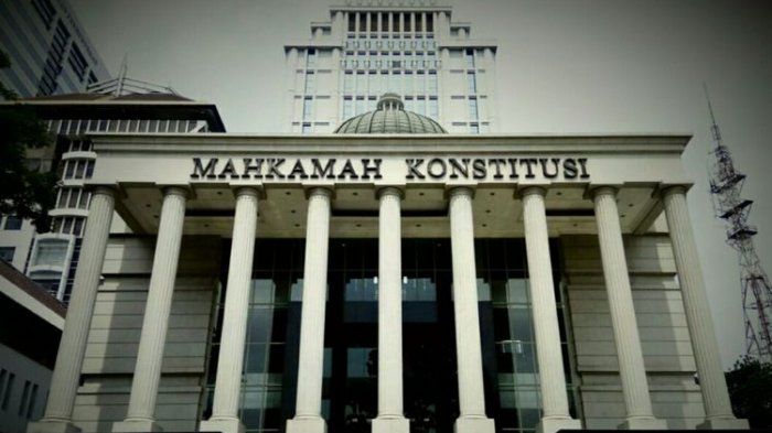 MK Tolak Semua Gugatan Presidential Threshold