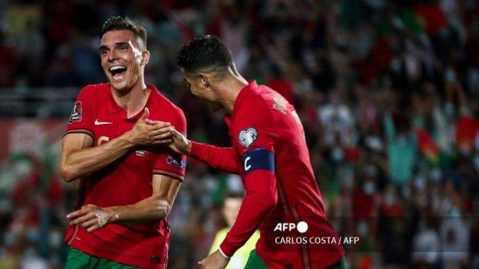Tiru Selebrasi Ronaldo, Gelandang Timnas Portugal Joao Palhinha : Anggap Bentuk Persahabatannya