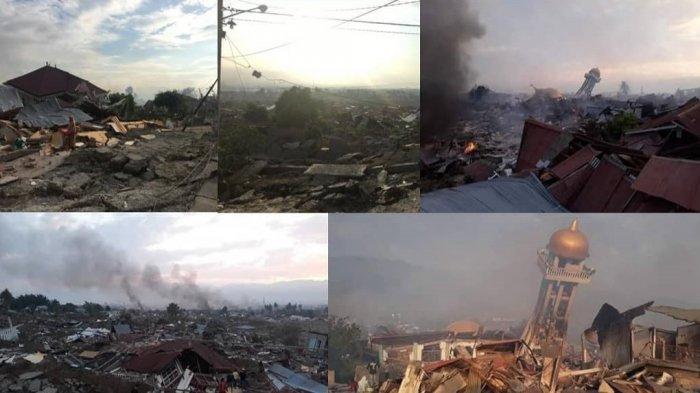 Minim Alat Berat dan Mati Listrik, Evakuasi Korban Gempa dan Tsunami di Palu-Donggala Jadi Terhambat