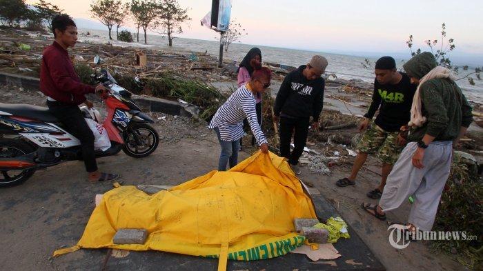 Hingga Sore Hari Ini, Jumlah Korban Meninggal Dunia Akibat Gempa Donggala Mencapai 832 Orang