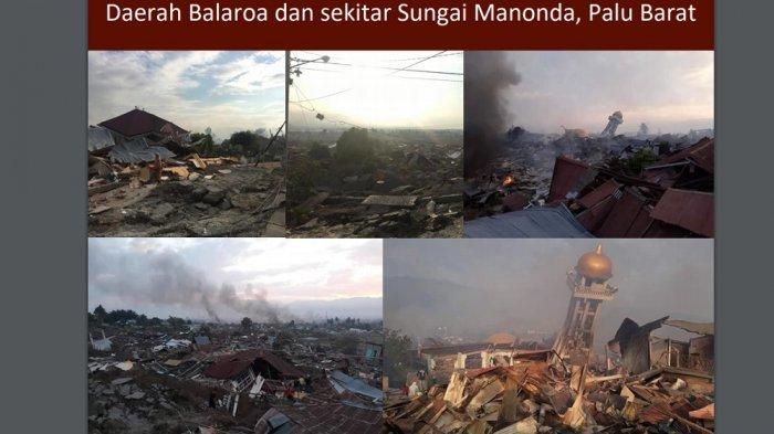 Luluh Lantak, Ini Foto-foto Wilayah Palu Setelah Gempa dan Tsunami Menghantam