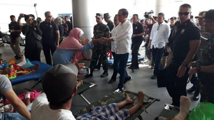 Jokowi Tunjuk Jusuf Kalla untuk Memimpin Jalannya Penanganan Korban Gempa dan Tsunami Sulteng