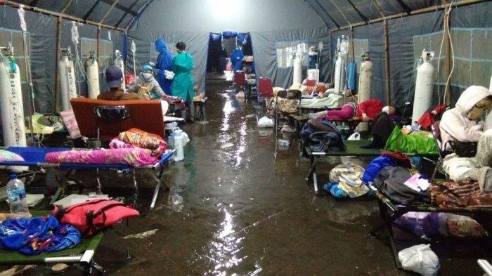 Tenda Darurat di RSUP Dr Sardjito DIY Sempat Terendam Banjir, Kini Sudah Surut