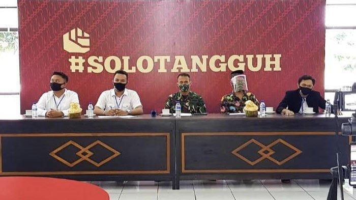 Viralkan Tagar #SoloTangguh, Kodim 0735 Surakarta ajak Warga Kompak Putus Penyebaran Covid-19