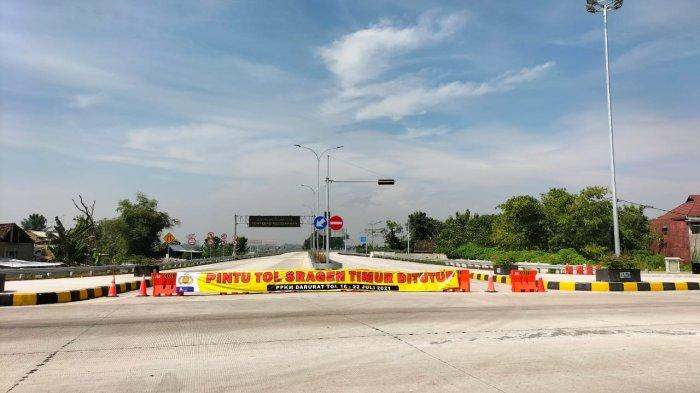 PPKM Level 3 Sragen : Jalan Pusat Kota Dibuka Besok, Tapi 2 Exit Tol Sudah Bisa Dilalui Hari Ini
