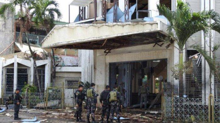 Polisi Filipina Belum Temukan Bukti Keterlibatan WNI dalam Bom Bunuh Diri di Gereja Pulau Jolo