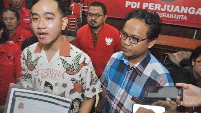 Gibran Daftar Calon Wali Kota Solo via PDIP Jateng, Ketua PDIP Solo : Tidak Ada Dalam Aturan Partai