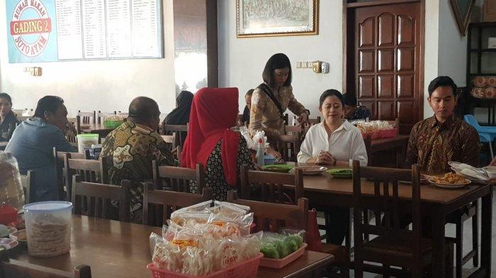 Akrabnya Gibran dan Puan Maharani saat Makan Soto Bersama di Solo, Ada Sinyal Apa?