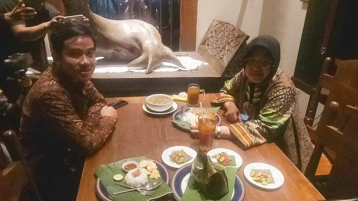 Jelang Pilkada Solo 2020, Gibran-Risma Bertemu, Makan Siang Bareng di Rumah Makan Pecel Solo