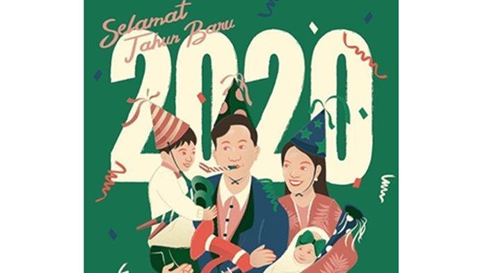 Blusukan di Solo Dikritik, Gibran Rakabuming Santai Ucapkan Selamat Tahun Baru dengan Cara Beda