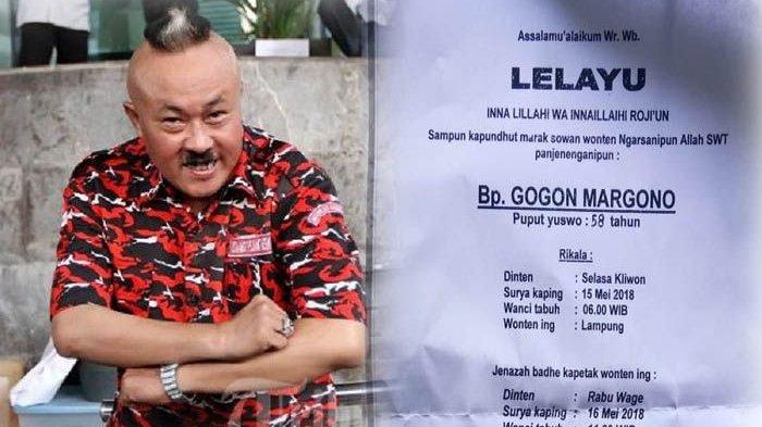 Karangan Bunga dari Pejabat dan Rekan Komedian Hiasi Rumah Duka Gogon