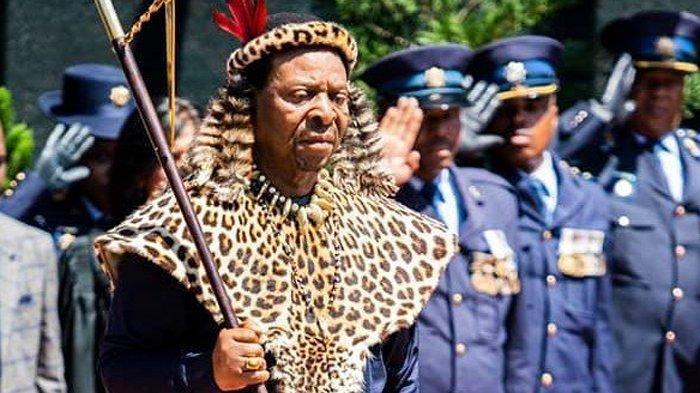 Sosok <a href='https://manado.tribunnews.com/tag/goodwill' title='Goodwill'>Goodwill</a> Zwelithini, <a href='https://manado.tribunnews.com/tag/raja-zulu' title='RajaZulu'>RajaZulu</a> yang Meninggal : Undang Ratusan Gadis Tes Perawan di Depan Raja