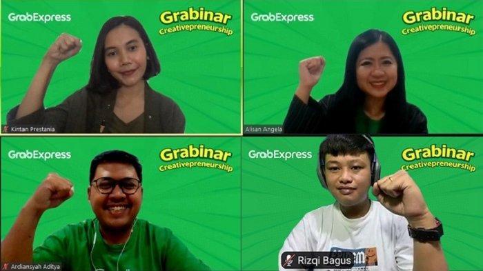 Grab Gelar Webinar di Yogyakarta, Dukung Kaum Muda Mulai Berbisnis