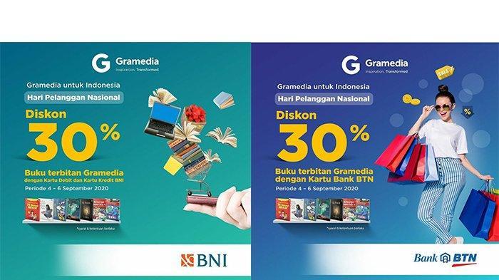Hari Pelanggan Nasional, Gramedia Berikan Diskon 30% untuk Semua Buku Terbitan Gramedia