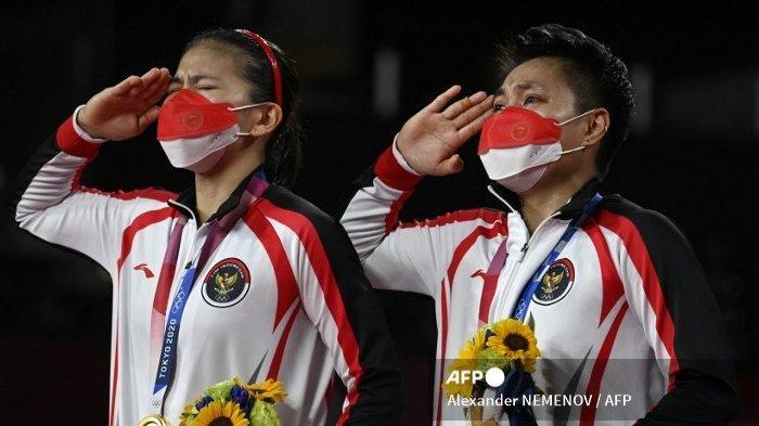 Olimpiade Tokyo 2020, Greysia Polii/Apriyani Rahayu Cetak 3 Rekor di Cabor Badminton