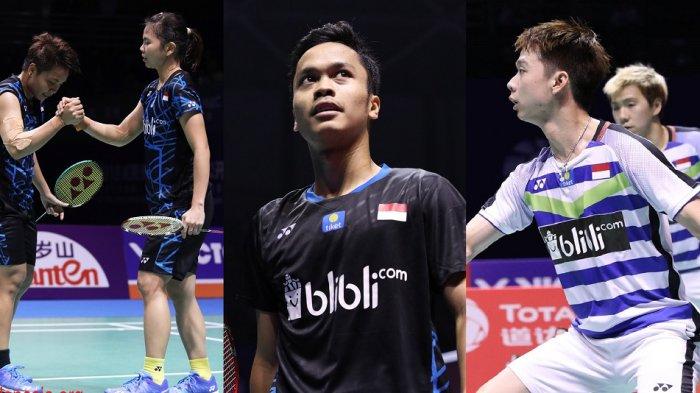 Indonesia akan Kirim 30 Wakil ke Singapore Open 2019, Ini Daftar Lengkap Pemainnya