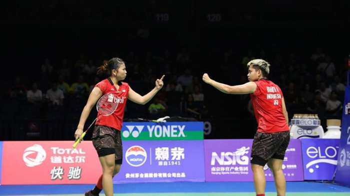 Olimpiade Tokyo 2020 : Head to Head Greysia Polii/Apriyani Rahayu vs Shin Seungchan/Lee Sohee