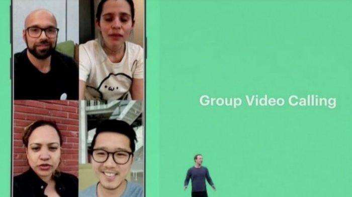 Begini Cara Melakukan Video Call Berempat Memakai WhatsApp