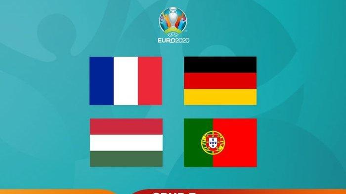 Ilustrasi Grup F EURO 2020.