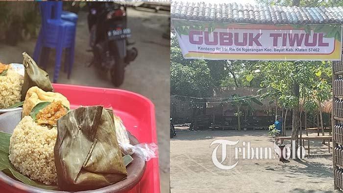 Wisata Kuliner Klaten : Ini Gubuk Tiwul, Menu Tiwul Sambal Bawangnya Bikin Omzet Jadi Melejit