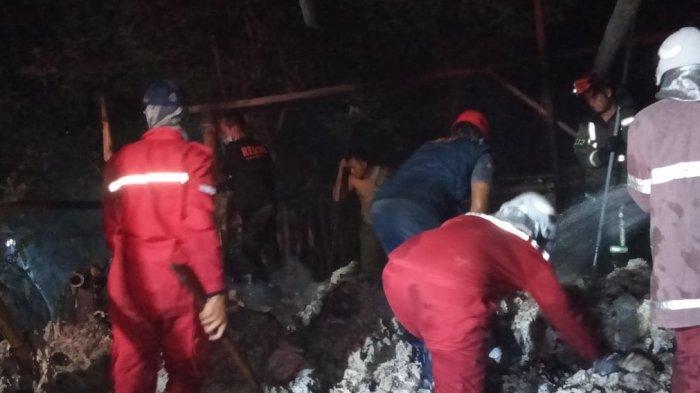 Diduga Kena Kembang Api yang Dimainkan Anak-anak, Gudang Benang di Trucuk Klaten Ludes Terbakar