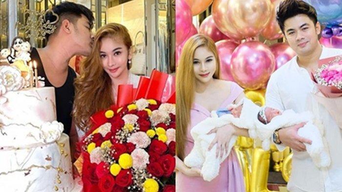 Guntur Triyoga rayakan ulang tahun istri