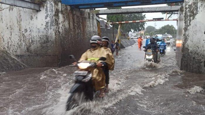 Ini Penyebab Viaduk Gilingan Solo Kebanjiran, Lokasi Dekat Masjid Hadiah Pangeran Arab untuk Jokowi