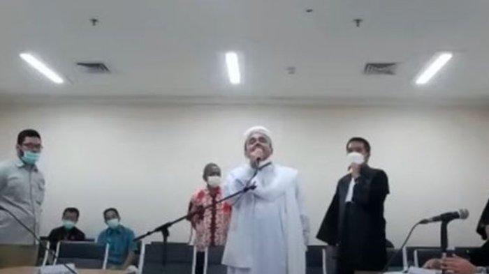 Isi Eksepsi Habib Rizieq: Merasa Aparat Tak Adil, Singgung Kerumunan Jokowi, Gibran & Bobby Nasution