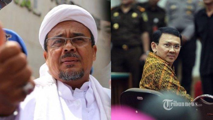 Habib Rizieq Bawa-bawa Nama Ahok dalam Sidang Pledoi, Sebut Ada Upaya Balas Dendam Politik