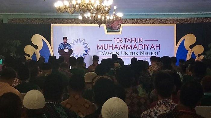 Pidato Haedar Nashir dalam Milad ke-106 Muhammadiyah di Solo, Ta'awun dalam Bingkai Kearifan Politik