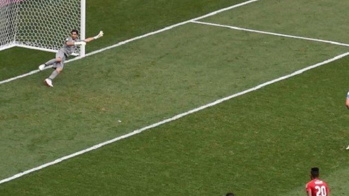 Piala Dunia 2018, Tiga Gol Harry Kane Bawa Inggris Lolos dari Grup G
