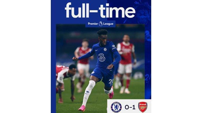 Hasil Liga Inggris : Chelsea Kalah dari Arsenal, Tambahan Nafas Buat Liverpool !