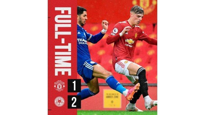 Hasil Liga Inggris : MU Kalah Lawan Leicester, Manchester City Resmi Kunci Juara Liga Inggris