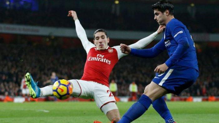 Arsenal vs Man City, Bellerin Bertekad Beri Gelar Piala Laga untuk Wenger