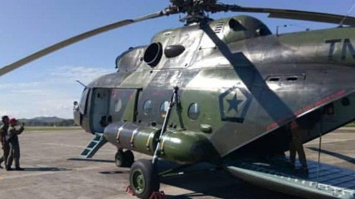 Helikopter MI-17 yang Hilang Kontak di Papua Masih Belum Ditemukan, Tim SAR Sebut Belum Ada Tanda