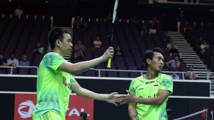 Ahsan/Hendra Beber Kiat Melaju ke Semifinal China Open 2018