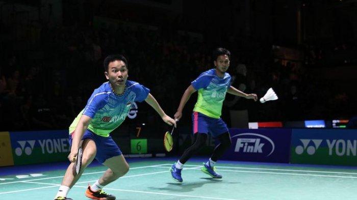 Indonesia Open 2019: Ahsan/Hendra Targetkan Lolos ke Semifinal