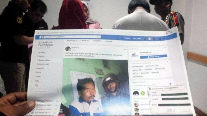 Pemuda di Sukabumi Ini Ditahan Polisi Karena Diduga Sebar Hoaks tentang Penculikan Anak