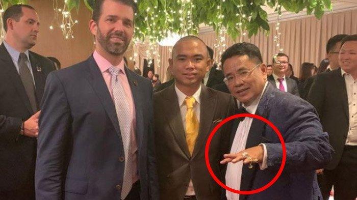 Hanya Satu Kata, Reaksi Anak Donald Trump Saat Lihat Cincin Berlian di Jari Hotman Paris