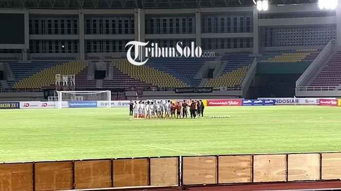 Giliran HWFC Tiba di Solo, Langsung Latihan di Stadion Manahan: Siap Lawan Persijap Jepara