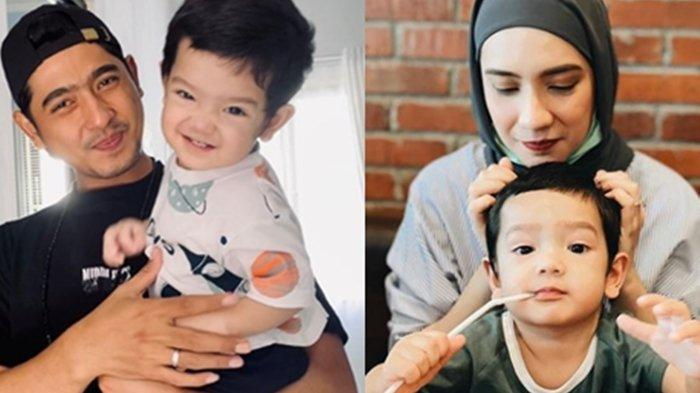 Ibrahim putra pertama Arya Saloka dan Putri Anne ulang tahun
