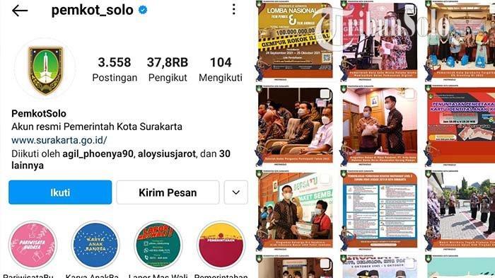 Begini Kronologi Peretasan Akun Instagram Pemkot Solo: Admin Tidak Bisa Login, Ada Hacker yang Masuk