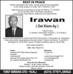 Rest in Peace - Irawan Oei Kiem Ay