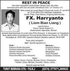 Rest in Peace - FX Harryanto (Liem Bian Liang)